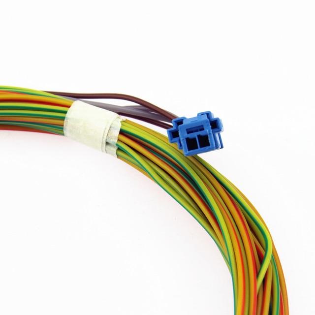 SCJYRXS 12 فولت Qty8 تسخير أوبس وقوف السيارات التبديل التلقائي الرادار زر كابلات الموصلات التوصيل ل MK6 جولف MK6 1K0 927 122 A