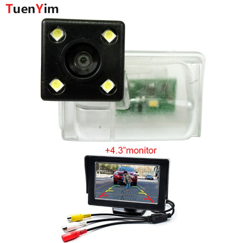 Waterproof Car Parking Reversing Back Rear View Camera for Mazda CX 5/CX 9 2019 with 4.3 LCD Parking monitor