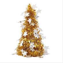 27cm DIY Home Tabletop Artificial Christmas Tree Festival Ornaments Decorations For Office Party Xmas