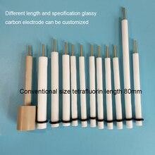 Özelleştirilmiş Camsı Karbon Elektrot 3/4/5mm