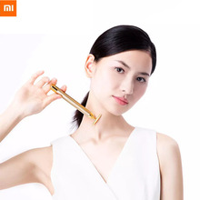 Xiaomi 24k Gold Vibration Slimming Face Beauty Bar Pulse Firming Roller Massager Lift Skin Tightening Wrinkle