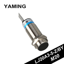 Proximity Switch Sensor LJ20A3-5-Z/BY Electric PNP / NPN Inductance Type M20 Three Line NO/NC DC12~24V Copper стоимость