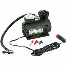 Dc12V 300Psi Car Tire Inflator Auto Mini Air Compressor Tire Pump With Pressure Gauge For Car Bicycle Motorcycle Ball