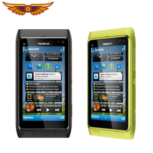 Original N8 Nokia N8 Mobile Phone 3.5″ Capacitive Touch screen Camera 12MP 3G Unlocked N8 Cellphone Free Shipping