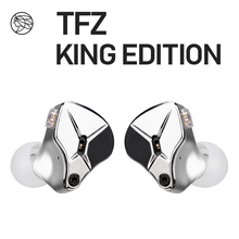 TFZ KING EDITION The Fragrant Zither Stage Monitor Earphone 2Pin HIFI IEM 3.5mm In Ear Sports Dynamic DJ Earbuds Tuning Switch