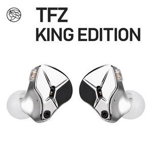 Image 1 - Наушники вкладыши TFZ KING EDITION, ароматизированные наушники вкладыши с монитором Zither, 2pin, Hi Fi, IEM, 3,5 мм, спортивные динамические диджейские наушники, Переключатель настройки
