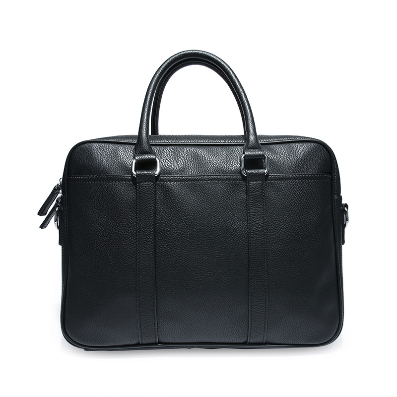2019 Men's Business Black Casual Bag Pu Leather Briefcase Men's Tote Bags High Quality Male Business Large Capacity