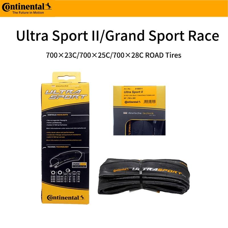 Continental grande esporte corrida ultra esporte estrada bicicleta pneus 700c × 25 700 × 28 700c foldin biketires 28c