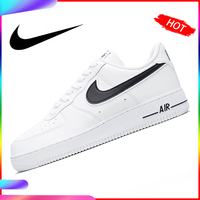 Original Authentic Nike Air Force1 Men's Skateboarding Shoes Sneakers Breathable Light Designer Athletic Balanced New AO2423 101