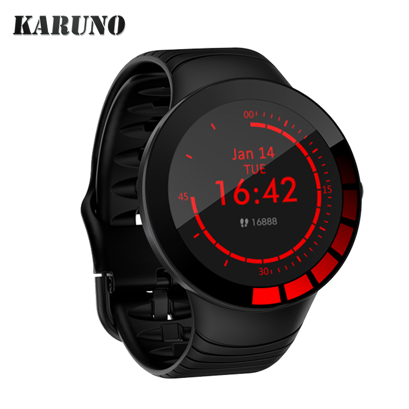 2020 KARUNO Smart Watch Sport Smartwatch Fitness Bracelet Heart Rate Monitor Smart Band Waterproof for Smartwatch Android iOS