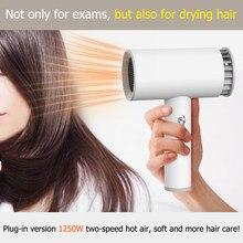 Usb sem fio secador de cabelo versátil portátil recarregável ferramentas de cabeleireiro doméstico salão cabeleireiro secador de cabelo elétrico novo