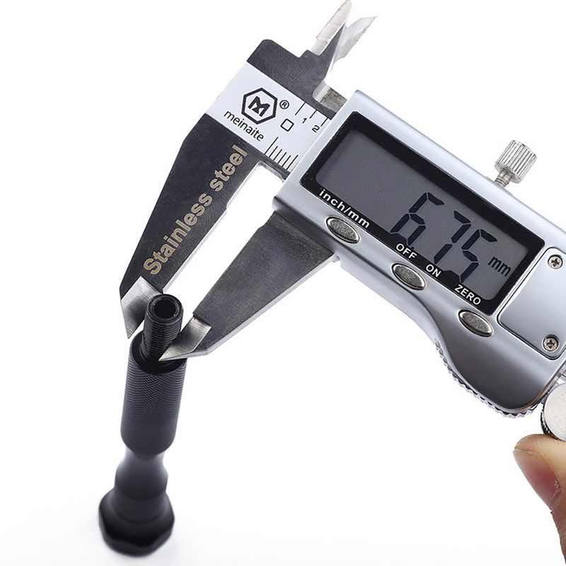 0.2-2mm/0.3-3.4 millimetri di Alluminio Trapano A Mano Con Keyless Mandrino + 10pcs Twist Punta del trapano mini Gioielli per La Lavorazione Del Legno Utensile Rotante