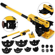 Manual Pipe Tube Bender Set Strong Material Round Hand Operated Updated New with  free shipping  to Europe