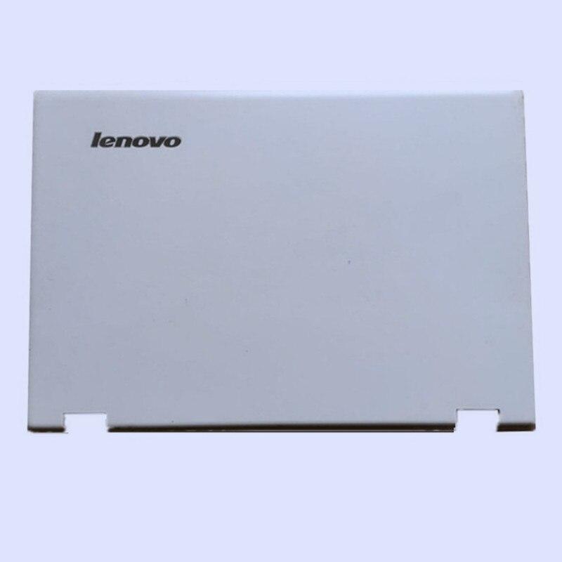 Новая Оригинальная ЖК-задняя крышка для ноутбука/передняя рамка/Упор для рук верхняя/Нижняя чехол для LENOVO Yoga 3-14 YOGA 700-14ISK серия - Цвет: white top cover