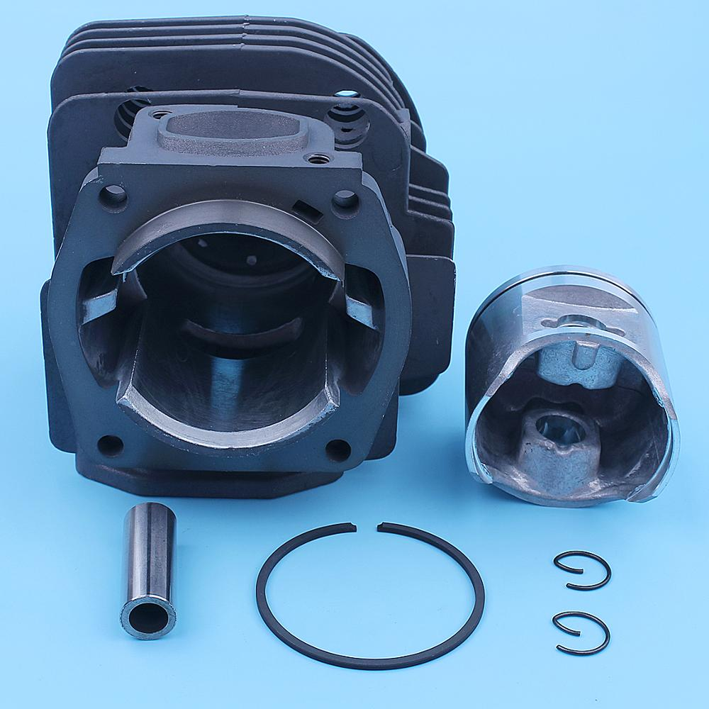 Tools : 48mm Cylinder Piston Kit For Husqvarna 365 Special Jonsered 2065 CS2165 Chainsaw Square Port 503691073 503691072 Spare Part