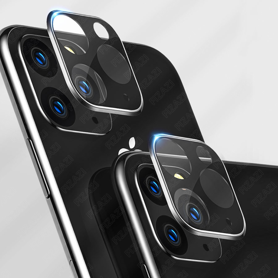 Image 2 - NEW Full Cover Back Camera Case for IPhone 11 Pro Max Titanium Alloy Case with Tempered Glass Rear Camera Lens Screen Protector-in Phone Screen Protectors from Cellphones & Telecommunications