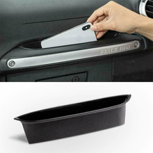 for tesla model 3 accessories car central armrest storage box auto container wallet phone glasses organizer case stowing tidying For 2011-2018 Jeep Wrangler Accessories Car Side Handle Hard Storage Box Auto Container Wallet Phone Glasses Organizer Case