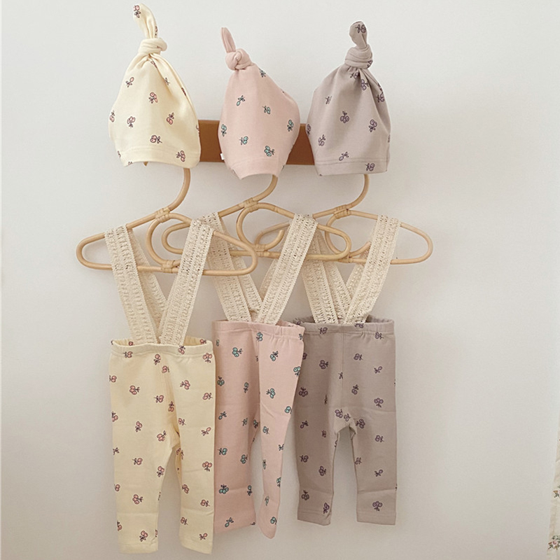 6.98US $ 20% OFF New Toddler Baby Girls Pants Baby Boys Girls Clothes Suit Infant Baby Girls Jumpsui...