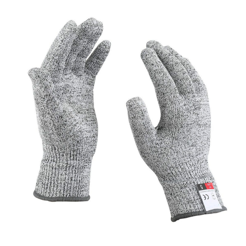 Зимние мужские тактические анти-порезные защитные перчатки, устойчивые к порезу, ножевые наручные перчатки, металлические кухонные перчатки для выживания мясника
