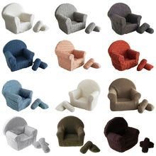 Sofa Photography-Props Photo-Accessories Posing Newborn-Baby Pillows Arm-Chair Infants