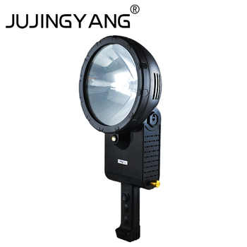 Strong light super bright xenon searchlight outdoor self-driving tour portable waterproof searchlight 12V HID searchlight