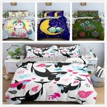 Комплект постельного белья с мультяшным рисунком пододеяльник