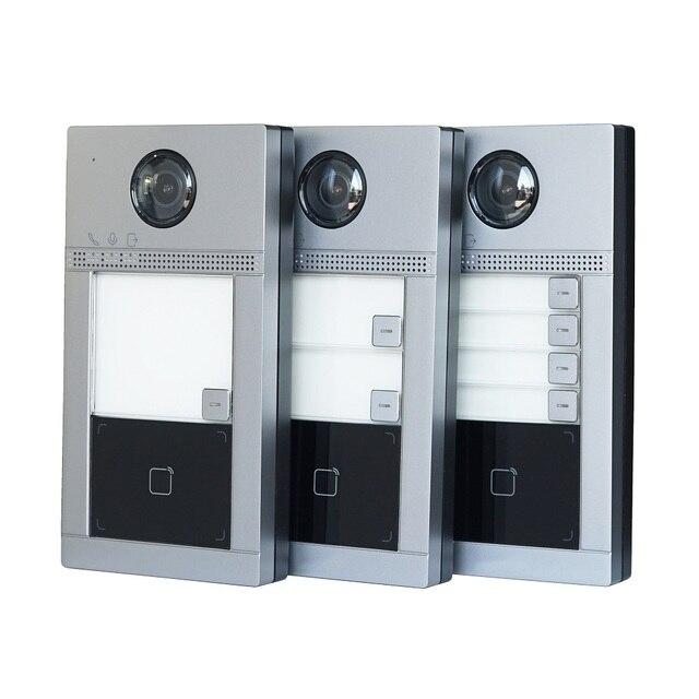 HIK 1-4 button DS-KV8113/8213/8413-WME1 International version IP Doorbell,Door phone, Video Intercom,waterproof, 13.56MHz RFID