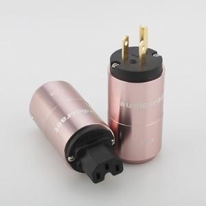 Image 3 - Audiocrast paire P106G plaqué or connecteur dalimentation américain + connecteur IEC prise dalimentation câble dalimentation ca US prise bricolage