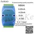 Модуль сбора аналогового входа 0-20 мА  4-20 мА  0-5 В  0-10 В  RS485 MODBUS RTU