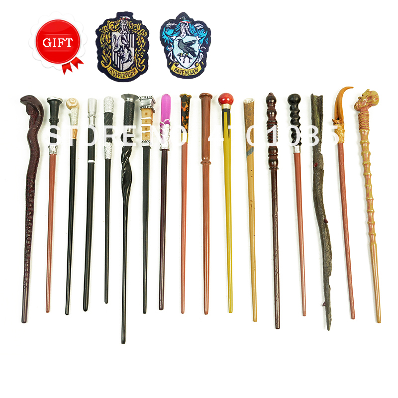 17 Kinds Of Potters Wands Series High Quality Amazing Animal Style Magic Wand With Two College Label Young Dumbledore Newt Wands