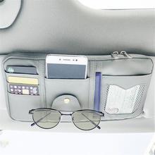 Holder Car-Accessories Auto-Visor-Organizer Storage-Bag Card-Glasses Multifunctional