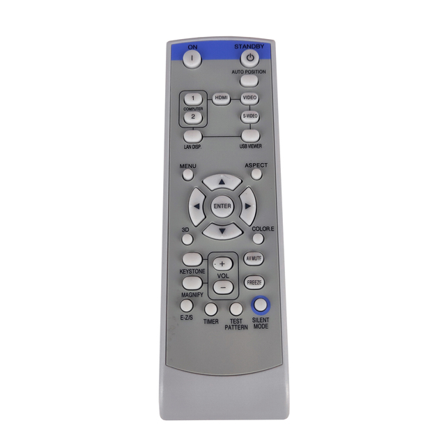 NEW XD250REM Replacement  FOR Mitsubishi PROJECTOR Remote control FD630U FD630U G WD620U WD620U G XD250U XD250U G XD250U ST