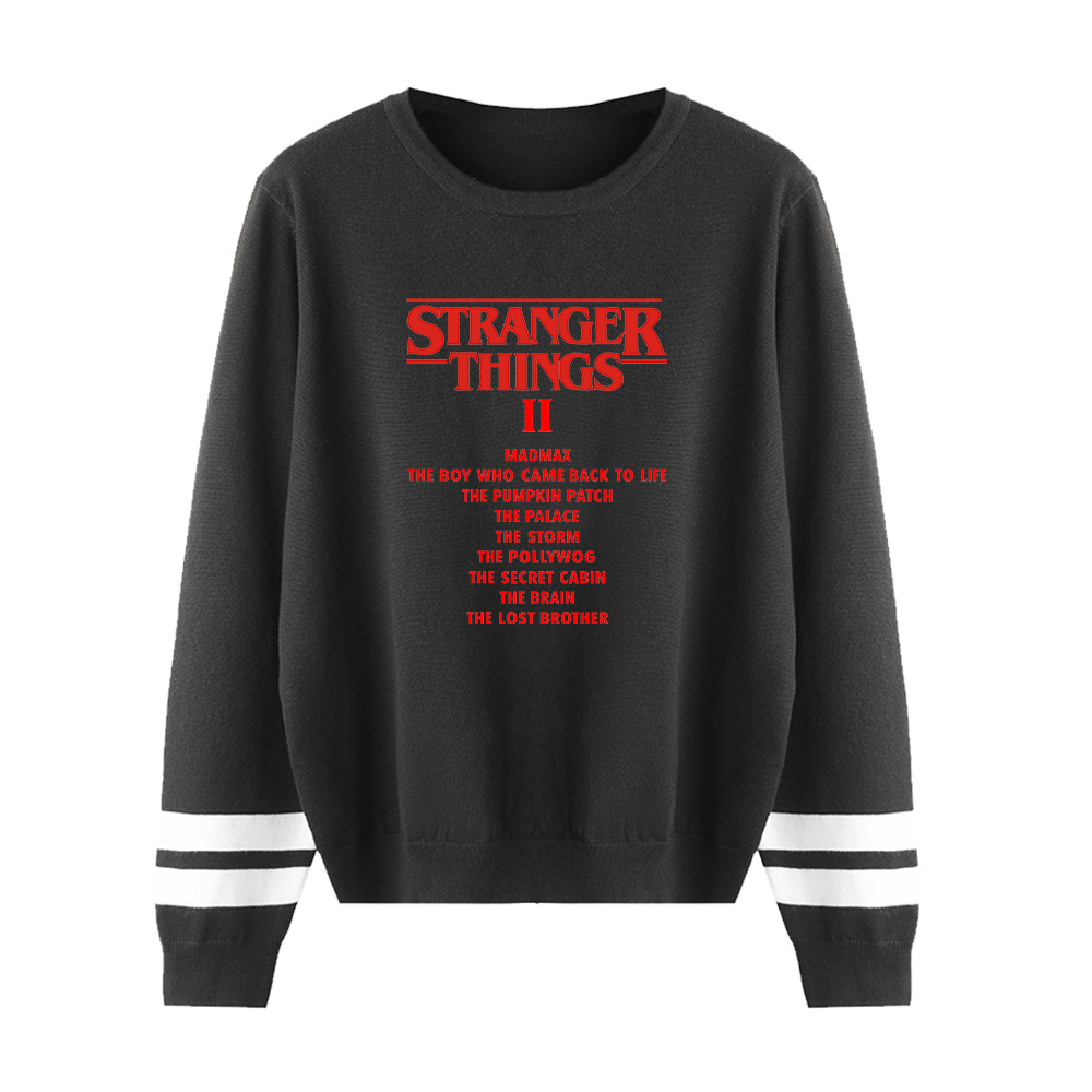 Stranger Things O-neck Sweater Men/women Discount Brand Clothes Hot Sale Knitting Sweater Stranger Things O-neck Casual Sweater