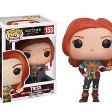 FUNKO POP The Witchers CIRI GERALT Triss 153#  Vinyl Action Figure Collection Model Toys for Children Birthday Gift