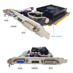 Image 3 - Оригинальная 6450 2 ГБ DDR3 видеокарта GPU офисная видео игровая компьютерная аксессуары с PCI Express HDMI