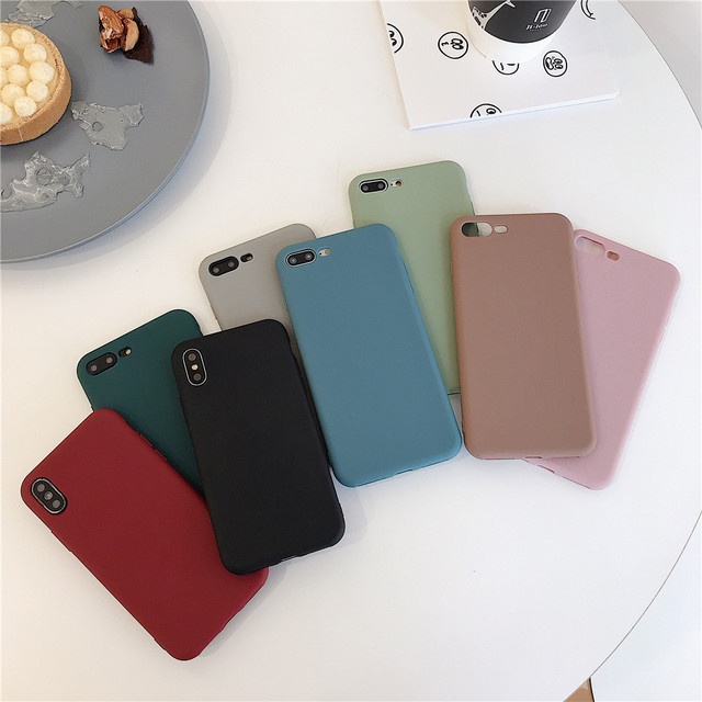 Candy Color Silicone Case For Samsung Galaxy A50 A51 A40 A70 A71 M10 M20 A10 A20 A30 M30 A10E A20E A10S A20S A30S A40 M30S Cover 2