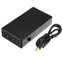 Kesintisiz güç kaynağı IP kamera 12V 1A 14.8W Mini UPS pili yedekleme güvenlik bekleme güç kaynağı