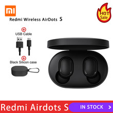 Xiaomi Redmi AirDots 2 TWS Bluetooth 5.0 Noise Reduction with Mic AI Control Redmi AirDots S True Wireless Headset