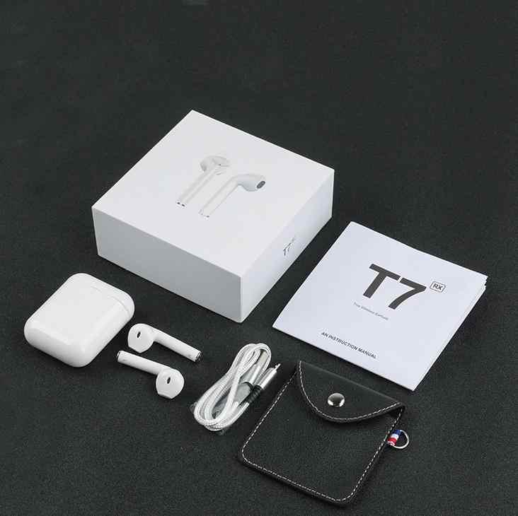 Słuchawki Bluetooth Mini bezprzewodowy/a słuchawki słuchawki sportowe bezprzewodowy zestaw słuchawkowy z okno ładowania dla Iphone Xiaomi