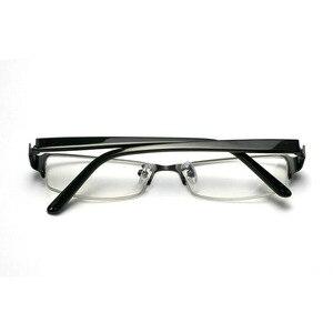 Image 2 - BCLEAR klasyczne pół obręczy ze stopu okulary rama marka projektant biznes mężczyźni rama okulary spektakl wiosna zawias na octanu nogi