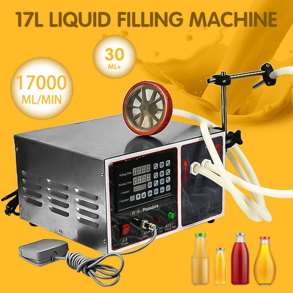 17L/min Automatic Liquid Filling Machine Quantitative Numerical Control Bottle Filling Machine Filler Alcohol Disinfection Water