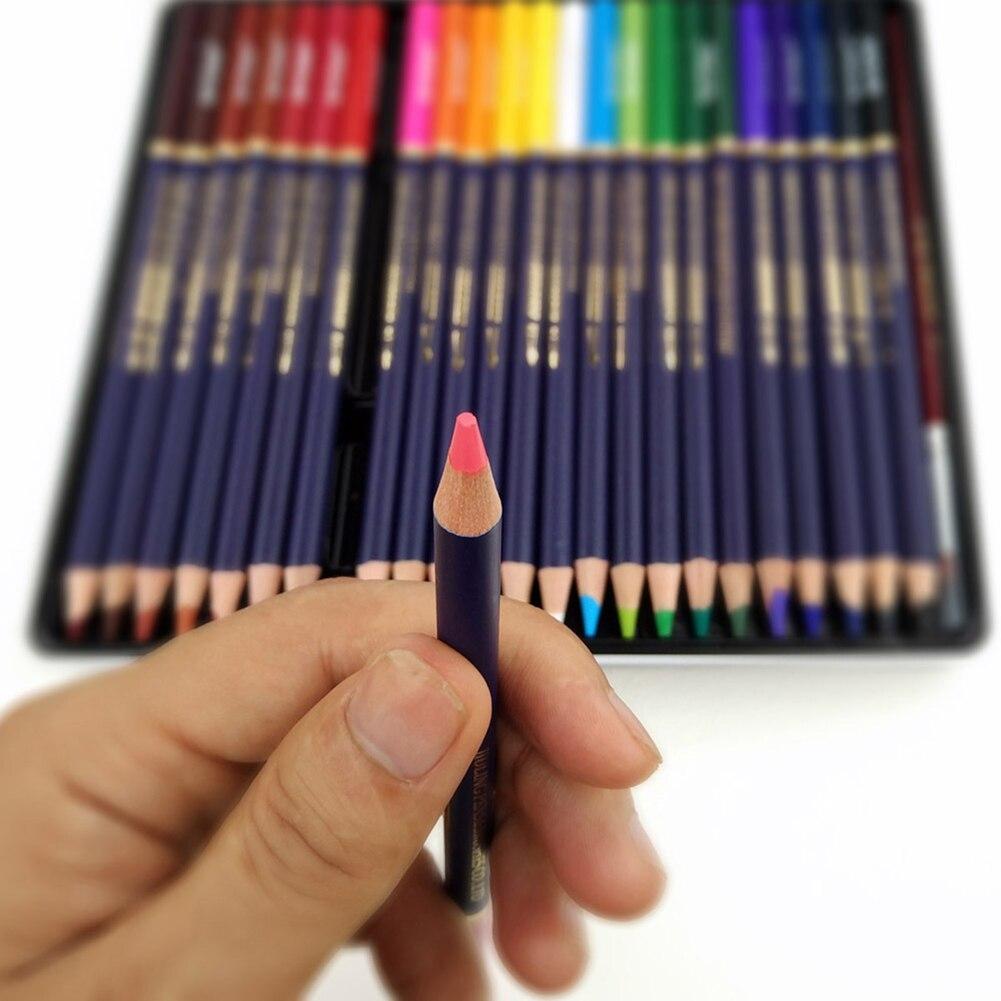 Lápices solubles en agua de 72 colores una variedad de coloridos lápices de dibujo artísticos multicolores adecuados para mezclar colores y capas Luz de fibra óptica de 41cm de ancho con controlador colorido pmma plástico led fibra óptica ABS lámpara de iluminación de cristal IL