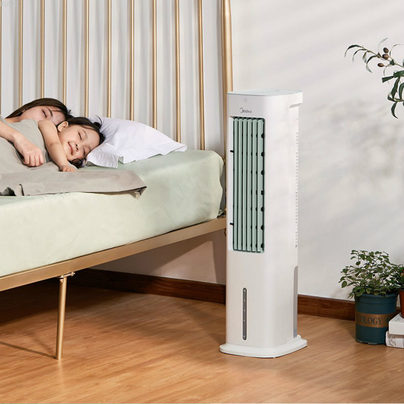 55W  Dormitory Water Air Conditioning   Cool Air Tower Air Cooler Fan  Portable Fan 220V Household Air Conditioning Fan