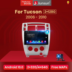 Junsun V1 Android 10 2G+32G DSP Car Radio Multimedia Video Player For Hyundai Tucson 2006 2007 2008-2010 Navigation GPS 2 din