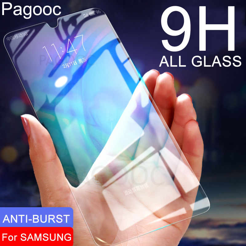 Tempered Glass For Samsung Galaxy A10 A20 A20E A30 A40 A40S A50 A60 A70 A80 A90 M30 M20 M10 Screen Protective Safety Glass Film