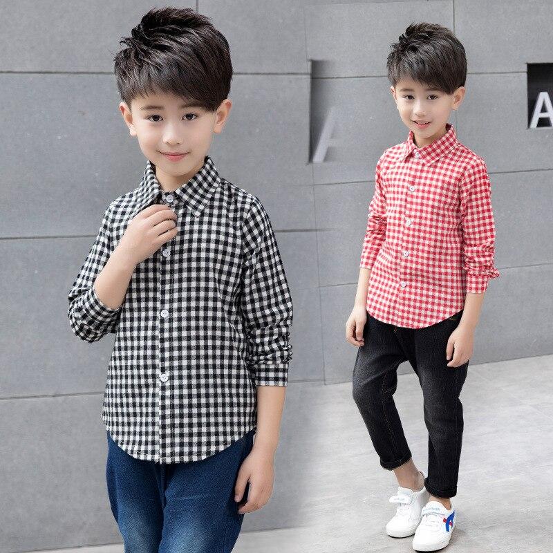 Boys Elegant Long-Sleeve Shirts