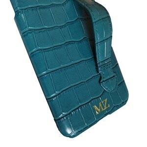 Image 3 - Solque جراب جلد أصلي مع حزام يد ، جراب فاخر لطيف لهاتف iPhone 11 12 Pro Max
