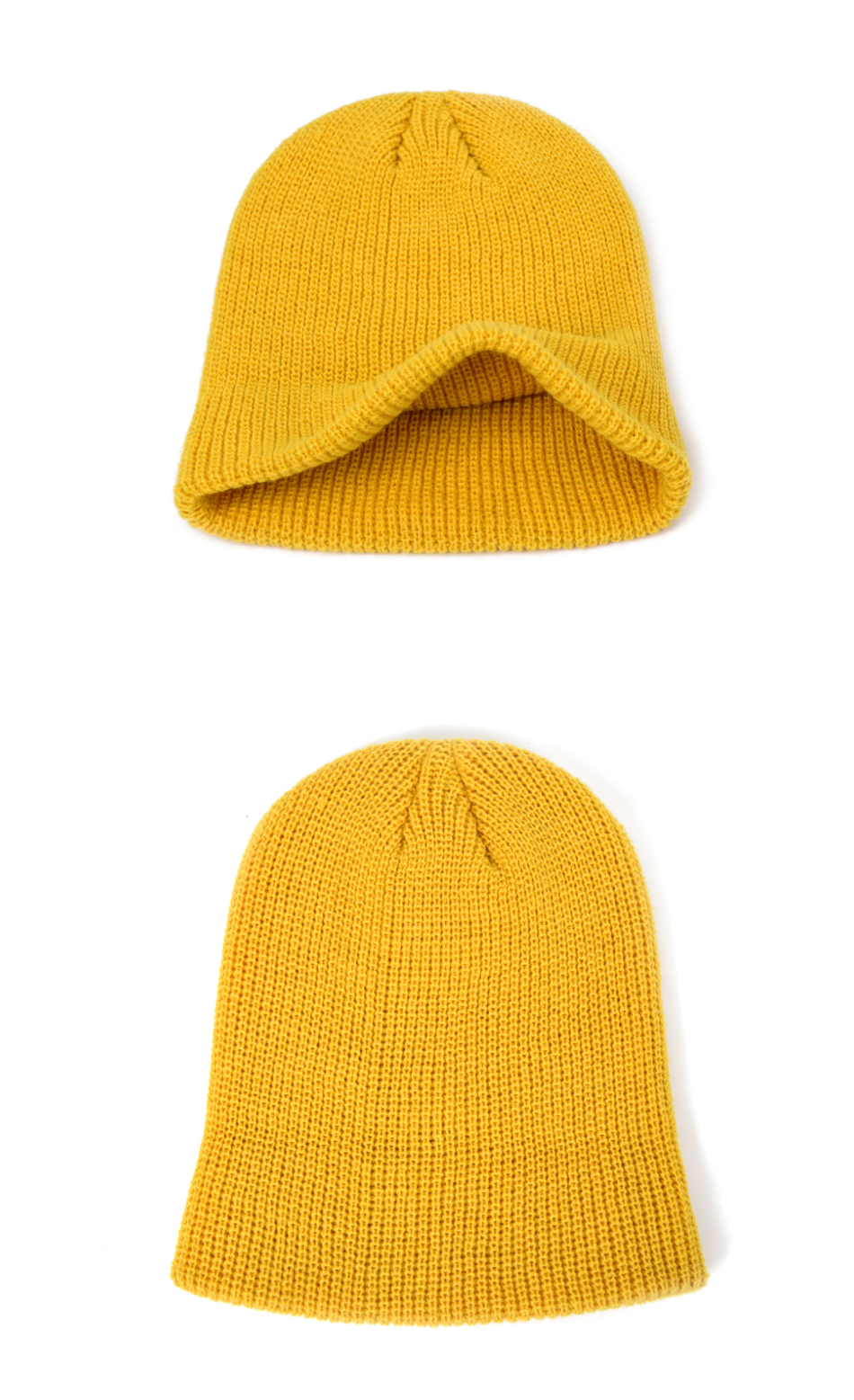 2021 Fashion Unisex Winter Hat Men Cuffed Cib Knit Hat Short Melon Ski Beanies Autumn Winter Solid Color Casual Beanie Hat 20