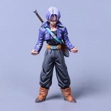 Anime Dragon Ball Z Super Saiyan Trunks Comic Ver PVC Action Figure Collectible Model doll toy 25cm pvc cartoon comic doll