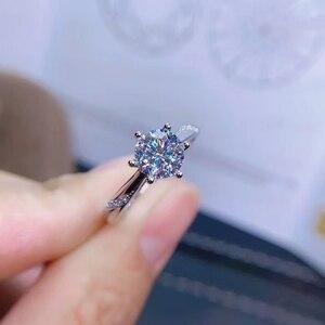 Image 5 - [Meibapjモアッサナイト、カラットスーパーホット販売、に匹敵するダイヤモンド、絶妙な技能